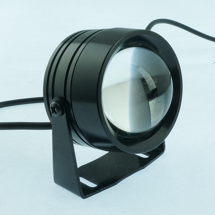 摩托车电动车led射灯 12w大功率强光电动车照明灯 电动滑板车大灯